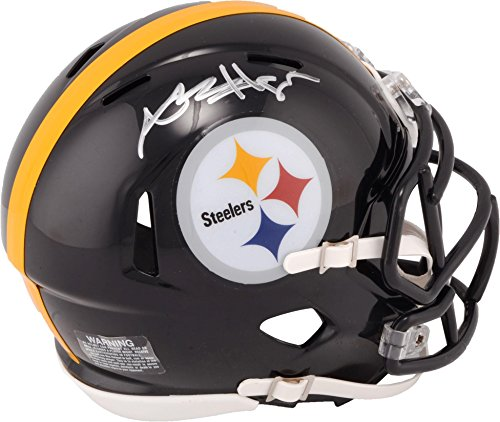 - Antonio Brown Pittsburgh Steelers Autographed Riddell Speed Mini Helmet - Fanatics Authentic Certified