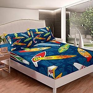 51axnH6VnaL._SS300_ Surf Bedding Sets & Surf Comforter Sets