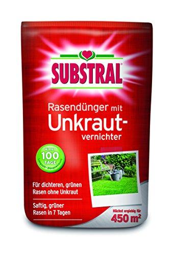 Substral 8217 Rasendünger mit Unkrautvernichter für, 450 m², 9 kg