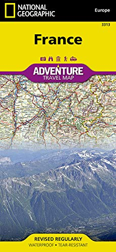 Paper National Geographic Map Adventure (France (National Geographic Adventure Map))
