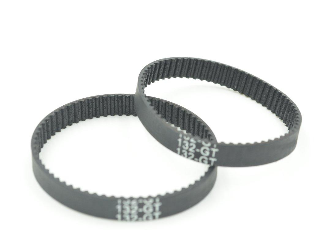 POWGE GT2 Timing Belt L=132mm W=6mm 66 Teeth Color Black Pack in Closed Loop Of 10pcs Ningbo Jiangbei Powge Transmission Component Co. Ltd