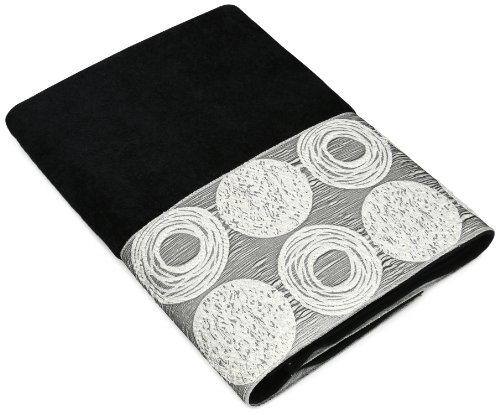 Avanti Linens Galaxy Bath Towel, Black (Avanti Black compare prices)