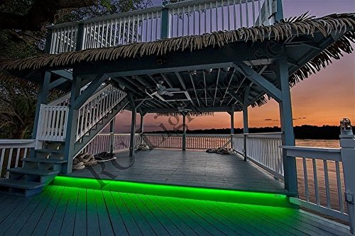 RV Recreational Vehicle Awning LED Light Strip RGB Multi Colored with 44 Key IR Remote and Power Source (4 Foot Length) by RC Lighthouse (Image #3)