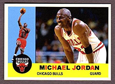 Michael Jordan Classic 1960 Topps Baseball Design (Chicago)
