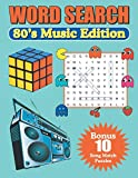 Word Search 80's Music Edition: Large Print Word