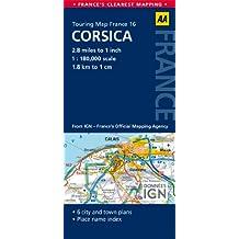 Road Map Corsica