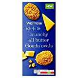 Gouda Cheese Oval Biscuits Waitrose 80g (Pack of 6)