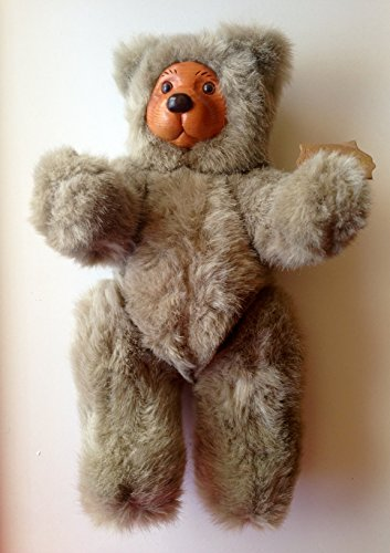 Raikes Originals Bear Doll by Applause: Cookie (Grey) from Applause