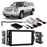 Fits GMC Yukon/Yukon XL 2007-2013 Double DIN Harness Radio Install Dash Kit