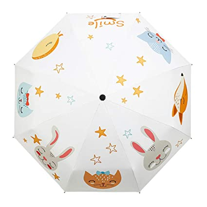 GIRLXV - Paraguas de Dibujos Animados para animar a los ...