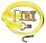 New MTN-G 2'' x 27' 10,000lb Ratchet Strap J Hook Ratcheting Tie Hold Down HEAVY DUTY
