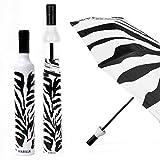 zebra wine - Vinrella Wine Bottle Umbrella - Zebra (131-A)