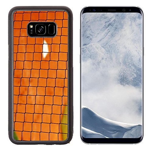 Luxlady Samsung Galaxy S8 Plus S8+ Aluminum Backplate Bumper Snap Case IMAGE ID 4154376 Baseball netting with home plate