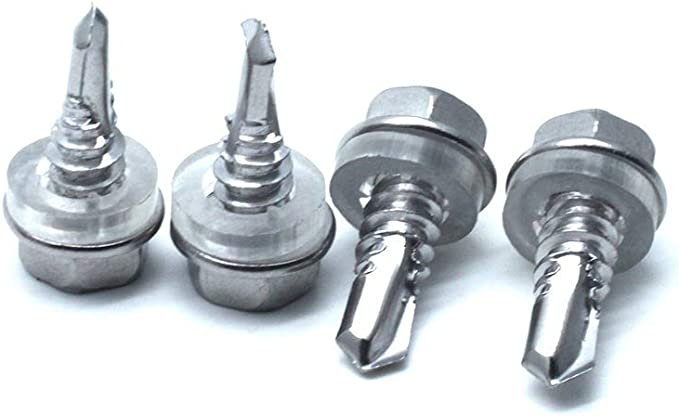 M2 M2.3 M3.5 M4 M5 Yoohey 160pcs Stainless Steel Flat Head Self Tapping Screws Bolts