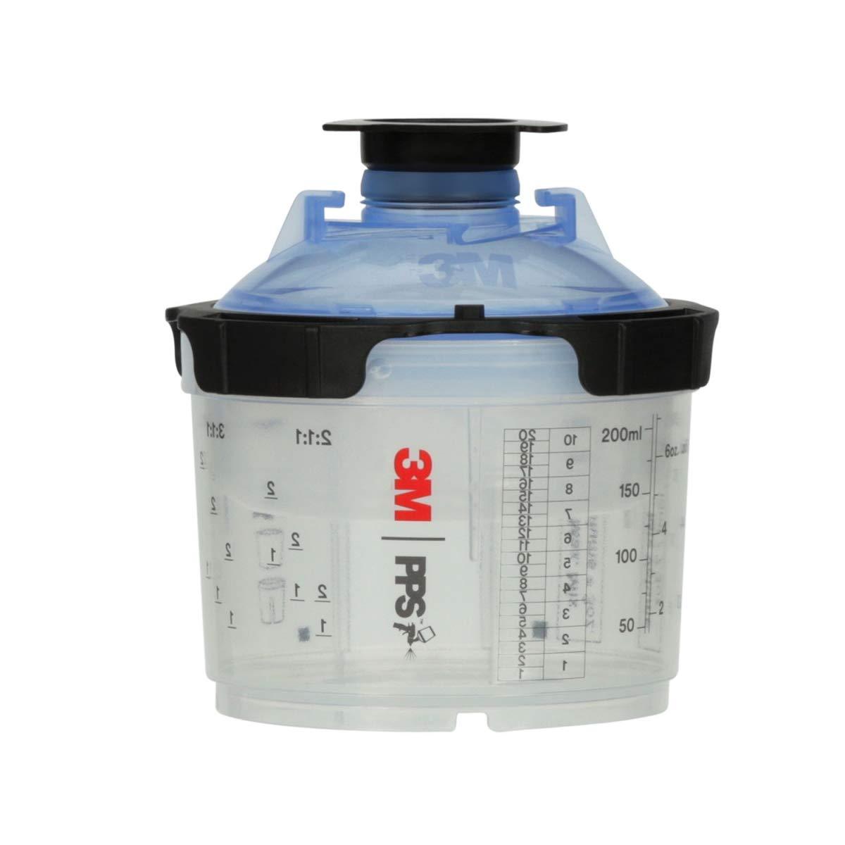 3M 1 kit/cs, PPS Series 2.0 Spray Cup System Kit, Micro (3 fl oz, 90 mL), 125u Micron Filter (2PS-26328)