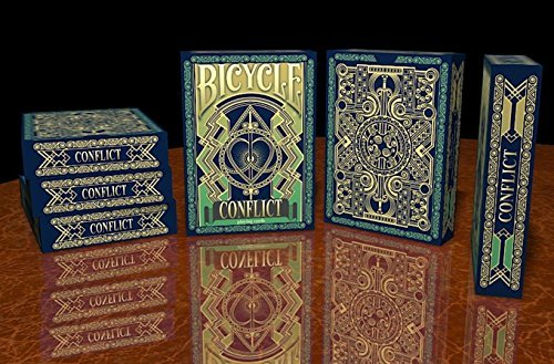 - BICYCLE CONFLICT PLAYING CARDS BY COLLECTABLE PLAYING CARDS (1 DECK)