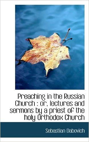 Prenota il download su Amazon Preaching in the Russian