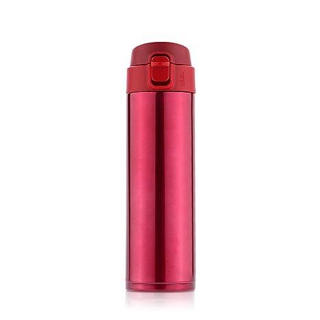 GSJQW Botella Agua Botellas - Acero Inoxidable 304-500Ml ...