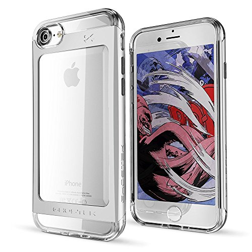 ek Cloak 2 Series for Apple iPhone 7 Slim Protective Armor Case Cover (Silver) (Case Silver Bullet)