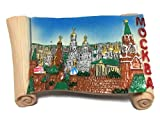 Mockba Moscow Russia Souvenir Collection 3D Fridge Refrigerator Magnet Hand Made Resin