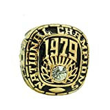for YIYICOOL fans' collection 1979 Alabama Chau championship rings size 11