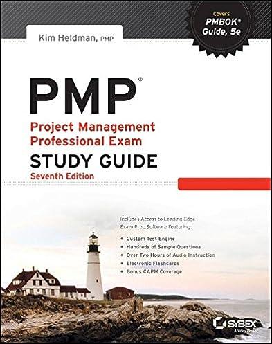 pmp project management professional exam study guide kim heldman rh amazon com Kim Heldman PMP Study Guide 30 Days Study Guide PMP