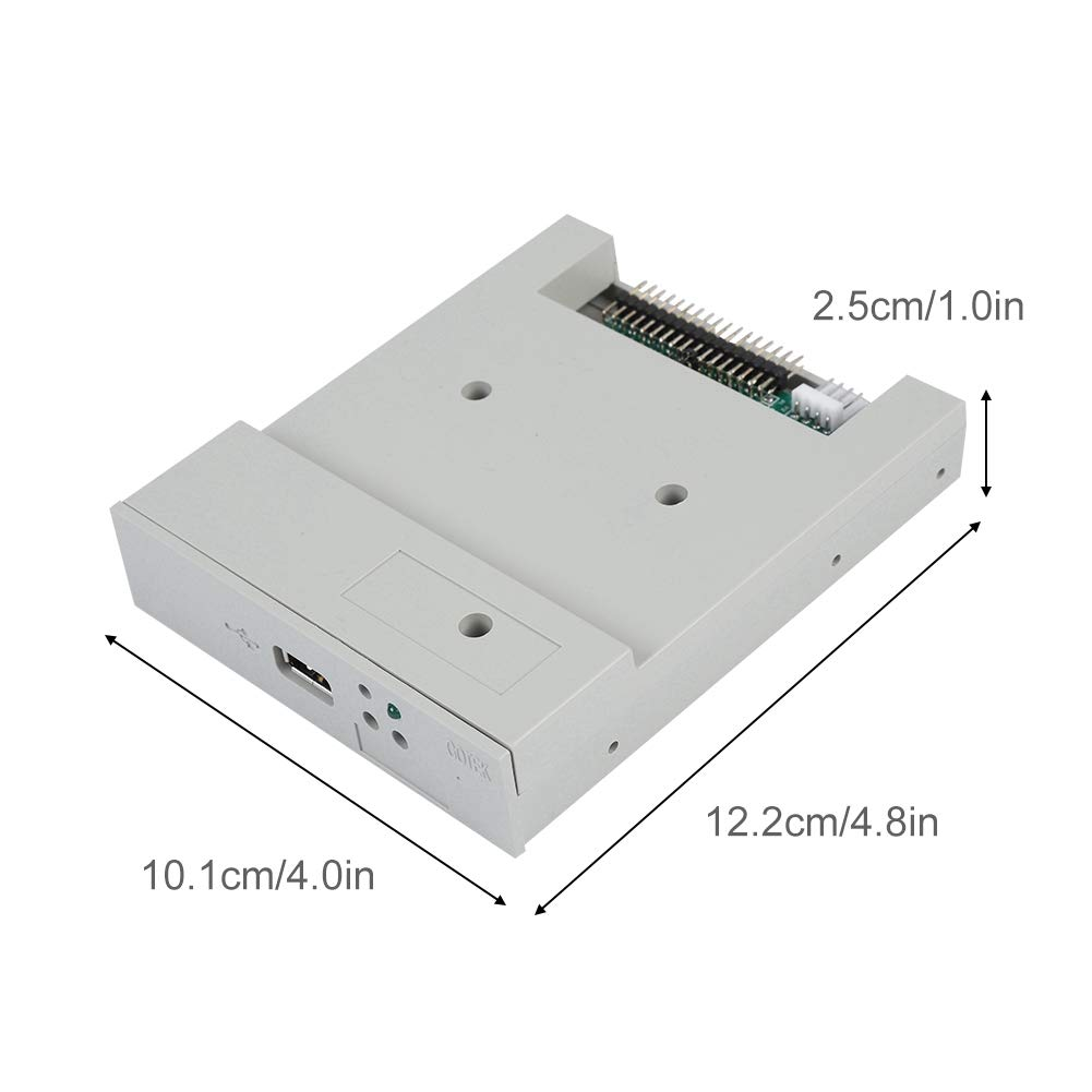 fosa USB Floppy Emulator, SFR1M44-U 3.5In 1.44MB USB SSD Floppy Drive Emulator Updated Version USB Flash Plug and Play with CD Screws for Floppy Disk Drive Industrial Control Equipment by fosa (Image #7)