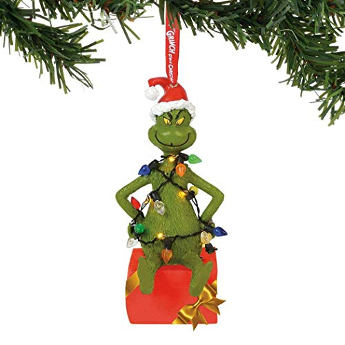 Department 56 Grinch Hanging Ornament, Multicolor -