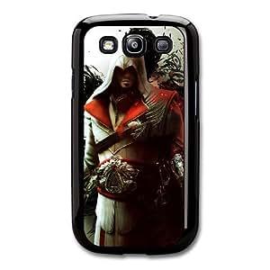 Ezio Auditore da Firenze K3U6BQ1X Caso funda Samsung Galaxy S3 Caso funda Negro