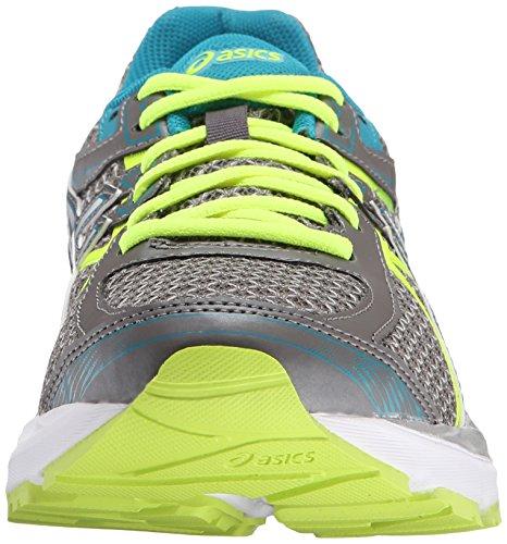 Asics Womens Gel-Flux 3 Running Shoe Titanium/White/Enamel Blue