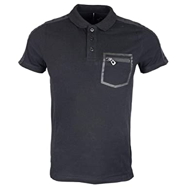 883 Police - Polo - para Hombre Negro Negro (Large: Amazon.es ...
