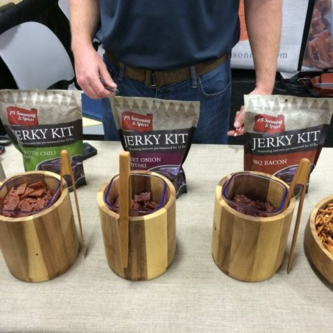 PS Seasoning & Spices Jerky Kit (Variety Pack) - GRAND CHAMPION MEAT PROCESSORS AWARD - Perfect For Do-It-Yourself Outdoors Men and Jerky Lovers - Great With Beef, Turkey, and Venison - Use With Dehydrator, Smoker, Or Oven. TASTE 100% GUARANTEED