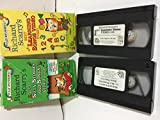 Richard Scarry's~ Bundle Pack of 2 VHS Videos~ Learing Songs Video & Silly Stories and Songs Video~