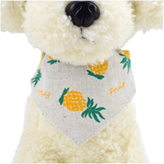 Hawkimin Jersey para Perros, Frutas, Estampado, Pet Saliva, Toalla, Gato, Toalla, Bufanda, Babero para Perros: Amazon.es: Productos para mascotas