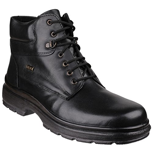 Cotswold Schweller Mens wasserdicht Lace Up Boot Schwarz