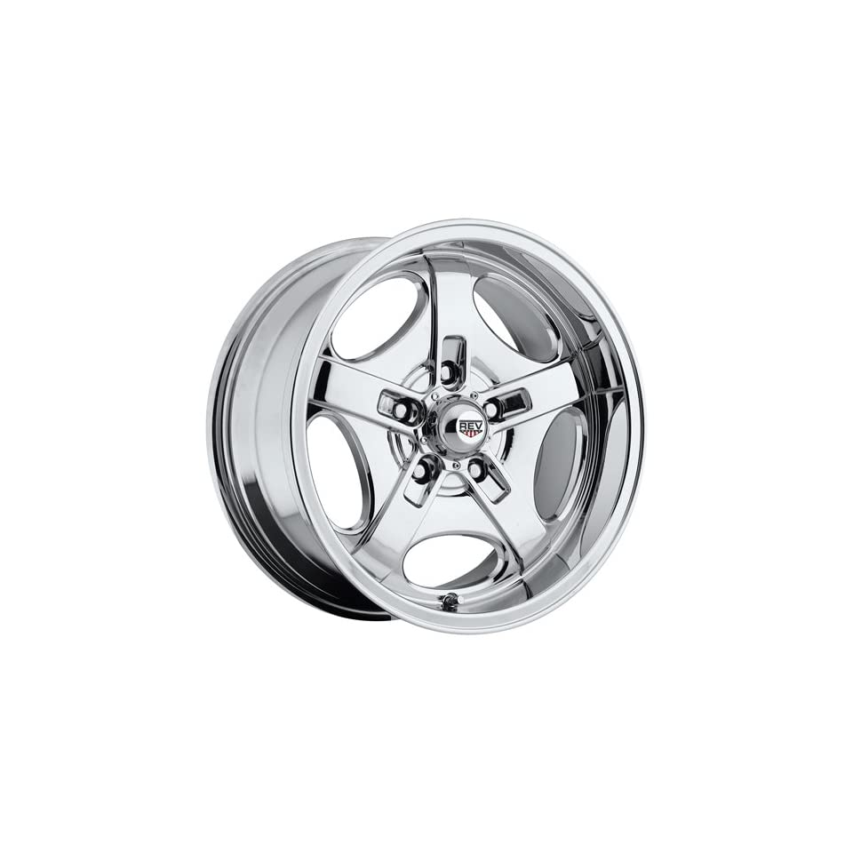 Rev Classic 101 17 Chrome Wheel / Rim 5x4.5 with a 0mm Offset and a 72.7 Hub Bore. Partnumber 101C 7806500