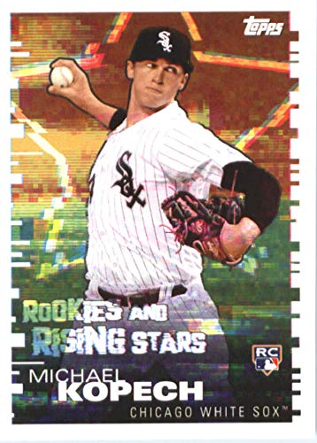 2019 Topps MLB Stickers Baseball #106 Michael Kopech/Kyle Freeland RC Rookie Card Chicago White Sox/Colorado Rockies Trading Card Sized Album Sticker with Collectible Card Back