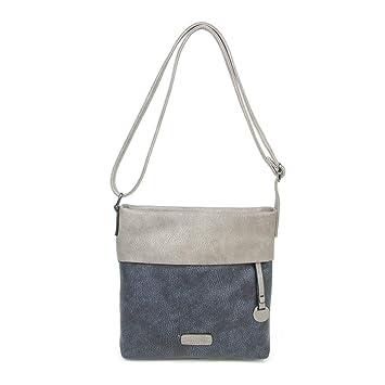 CASAdiNOVA - Damen Umhängetasche - Crossbody Bag mit Schulterriemen - PU Leder Schultertasche - Messenger Handtasche mit Reiß