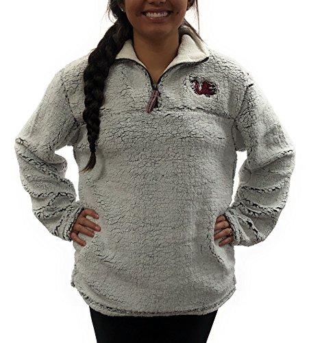 (South Carolina Gamecocks Poodle Jacket; 1/4 Zipper University Apparel Clothing)