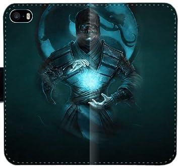 Mortal Kombat Ninja Art Zero Frío Dragón Z7Y7U Funda iPhone ...
