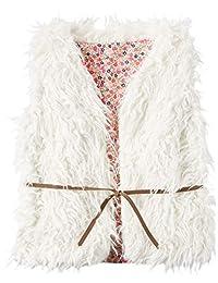 Carter's Big Girls' Belted Faux Fur Lined Fashion Vest (4)