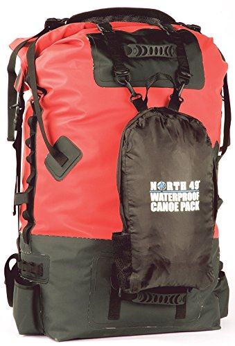 North49 Waterproof Canoe Pack 120L - Fully Loaded!