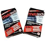 ORIGINAL METRINCH USA 10 PC 1/2`` DRIVE 12pt SOCKET SET NEW 2 PACK /&supplier-raretoolxchange