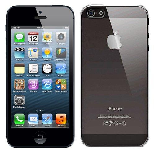 RT-TRADING APPLE IPHONE 5 ULTRA SLIM CRYSTAL CASE SCHUTZHÜLLE HÜLLE HARD CASE COVER TASCHE