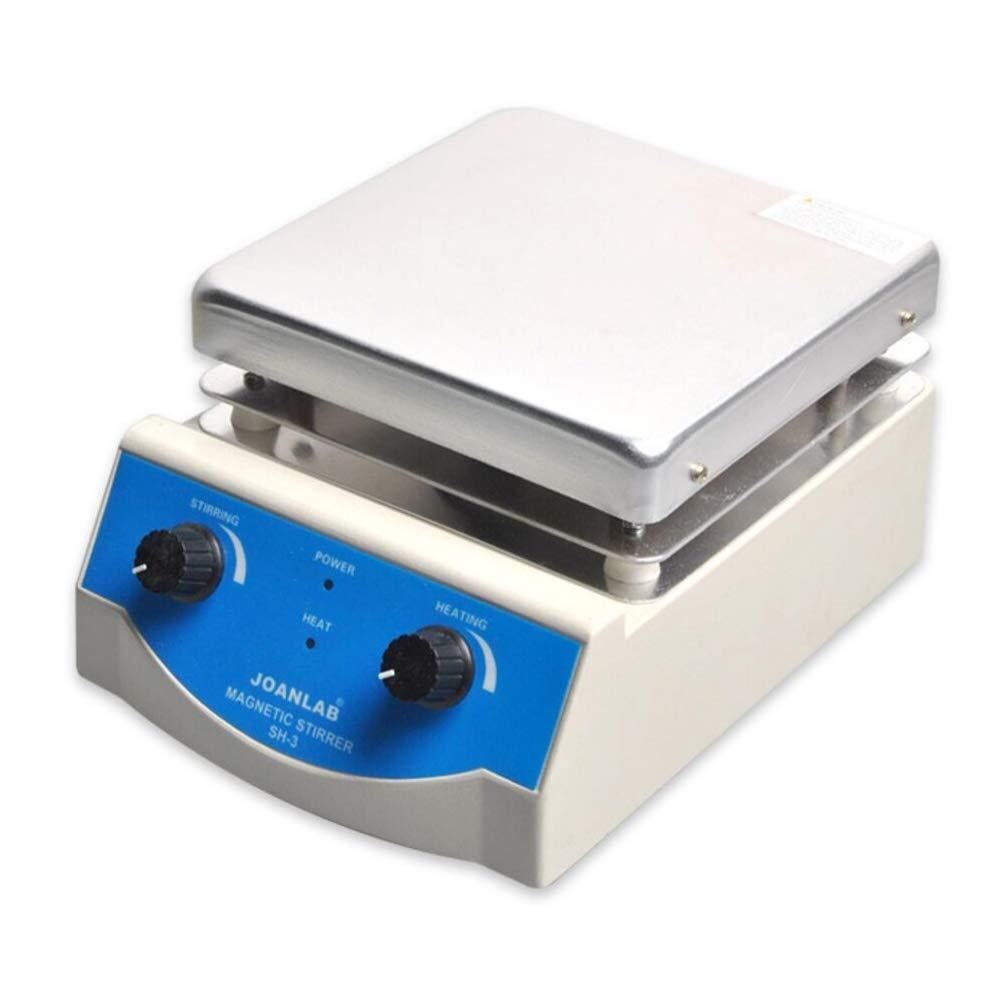 JoanLab Lab SH-3 Magnetic Stirrer Hot Plate, Stir Plate, Magnetic Mixer, 3,000mL, 100~1600rpm, 500W, 350°C Magnetic Stirrer Hot Plate, Heated Magnetic Stirrer, Lab Hot Plate Magnetic Stirrer by JoanLab