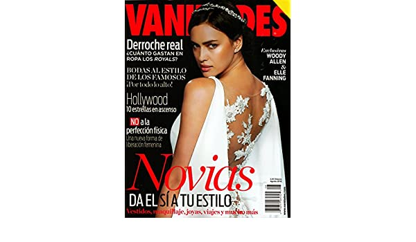 Vanidades Magazine Agosto August 2016 | Novias da el Si a tu Estilo: Amazon.com: Books