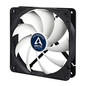 ARCTIC F12 PWM PST - Standard Low Noise PWM Controlled Case Fan with PST Feature