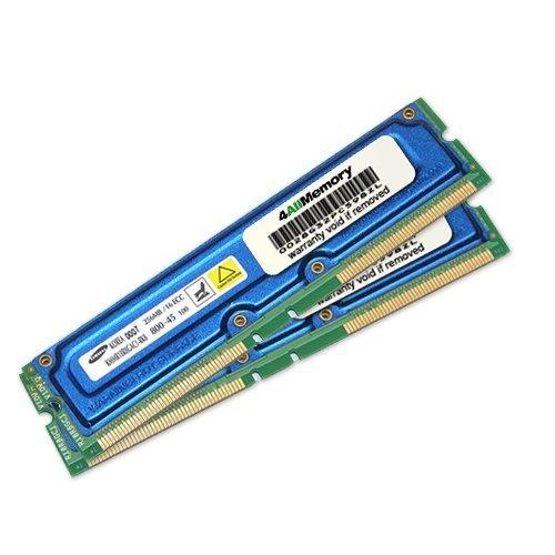 512MB [2x256MB] PC800 45ns RDRAM ECC RAM Memory Upgrade Kit for the IBM IntelliStation Z Pro 2D 6866-40U (Rdram Computer Memory Ram)