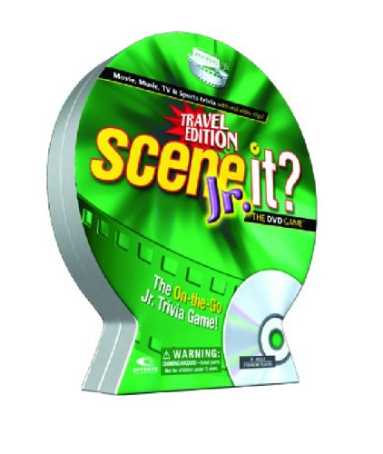 Scene It? JR Travel DVD Game