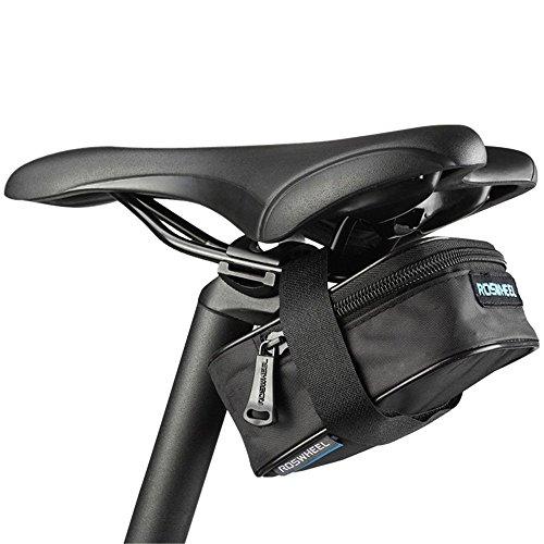 Sattel Pack Outdoor, Fashion Pouch Tasche für Mountain Bike Sitz Sattel Wedge Pack Aufbewahrungstasche Paar Mountain Road MTB Fahrrad Bike Radfahren PU Satteltasche, Fahrrad Reparatur Werkzeug Pocket
